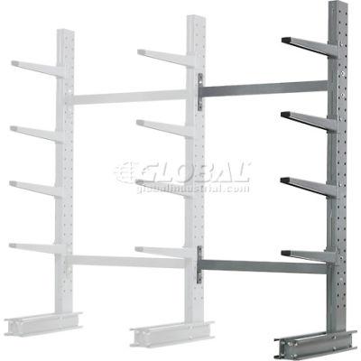 "Cantilever Rack Single Sided Add-On Unit Medium Duty (1000 Series), 48""W  x 33""D x 8'H, 5300 Lbs Cap"