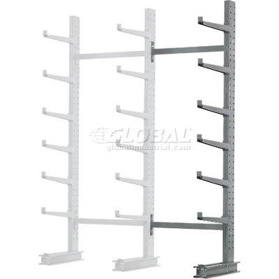 "Cantilever Rack Single Sided, Add-On Unit Medium Duty (1000 Series),72""W  x 45""D x10'H, 3800 Lbs Cap"