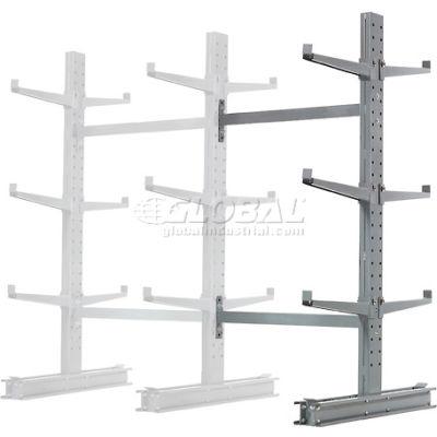 "Cantilever Rack Double Sided, Add-On Unit Medium Duty (1000 Series),48""W  x 54""D x 6'H,16200 Lbs Cap"