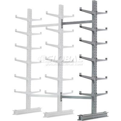 "Cantilever Rack Double Sided, Add-On Unit Medium Duty (1000 Series),72""W  x 78""D x 10'H,7600 Lbs Cap"