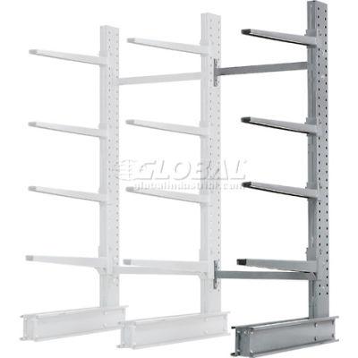 "Cantilever Rack Single Sided Add-On Unit Heavy Duty (2000 Series),48"" W  x 38""D x 8'H,13300 Lbs. Cap"