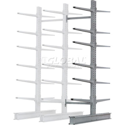"""Cantilever Rack Double Sided Add-On Unit Heavy Duty (2000 Series),72""""W  x 107""""D x 12'H,17000 Lbs Cap"""
