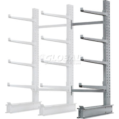 "Cantilever Rack Single Add-On Unit Extra Heavy Duty, 48""W  x 37""D x 8'H, 21500 Lbs Capacity"