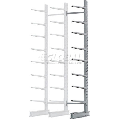 "Cantilever Rack Single Add-On Unit Extra Heavy Duty, 72"" W  x 61"" D x 12' H, 12500 Lbs. Capacity"