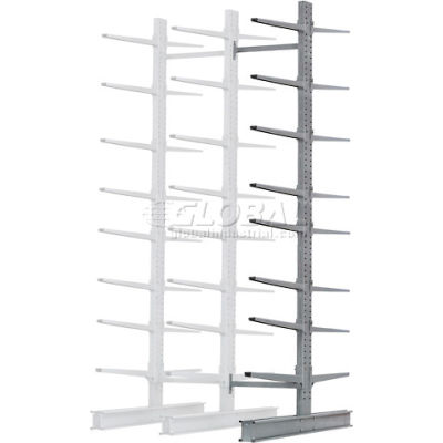 """Cantilever Rack Double Add-On Unit Extra Heavy Duty, 72"""" W  x 106"""" D x 12' H, 25000 Lbs. Capacity"""