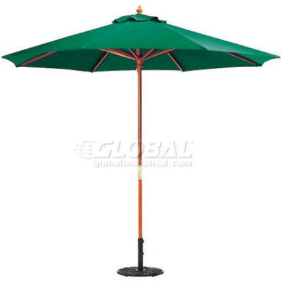 Oxford Garden® Market Outdoor Umbrella 9' - (Hunter -poly)