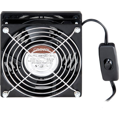AC Fan Kit For Global Industrial™ Computer Security Cabinet & Audio-Visual Cart