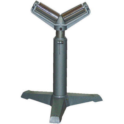 "Roller V Stand STAND-V with 23-1/2"" to 39-1/4"" Height Range 1760 Lb. Capacity"