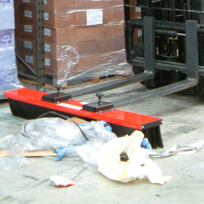 "SweepEx® VSB-048 ValuSweep Forklift Broom & Sweeper 48""W"