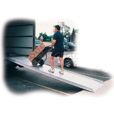"Hook Style Walk Ramp AWR-28-10B - 28""W x 10'L - 2200 Lb. Capacity"