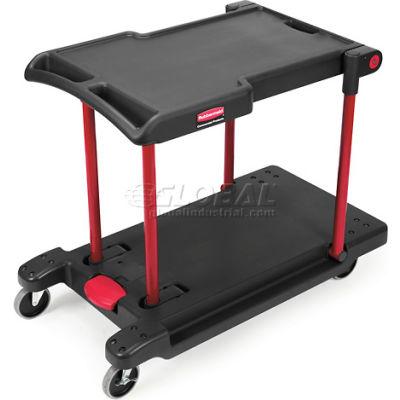 Rubbermaid® 4300 Convertible Plastic Utility Cart