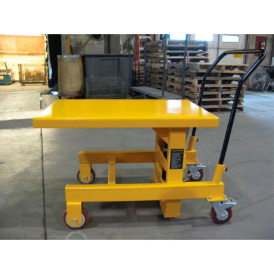 Wesco® Hydraulic Die Lift Table 273265 2000 Lb. Capacity