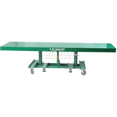 "Lexco® - Wesco® Extra Long Deck Lift Table 492242 120""L x 20""W 2000 Lb. Capacity"