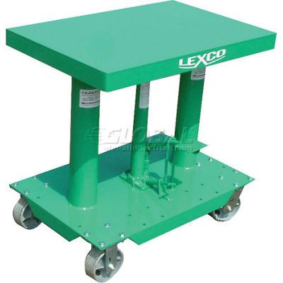 "Lexco® - Wesco® Lift Table 492204 30""L x 20""W 2000 Lb. Capacity"