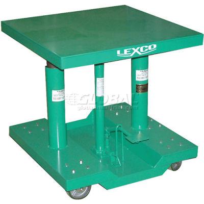 "Lexco® - Wesco® Lift Table 492193 30""L x 30""W 2000 Lb. Capacity"