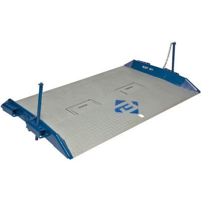 Bluff® 15T8448 HD Steel Dock Board with Lock Pins 84 x 48 15,000 Lb. Cap.