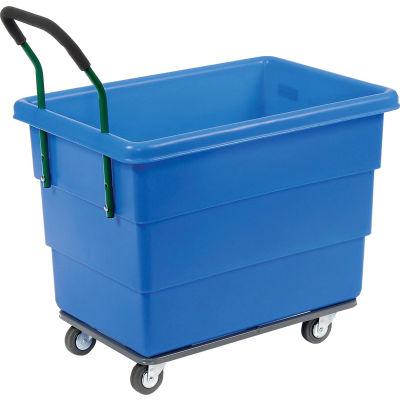 Ergonomic Push Handle for Dandux Plastic Box Trucks - Factory Installed Only
