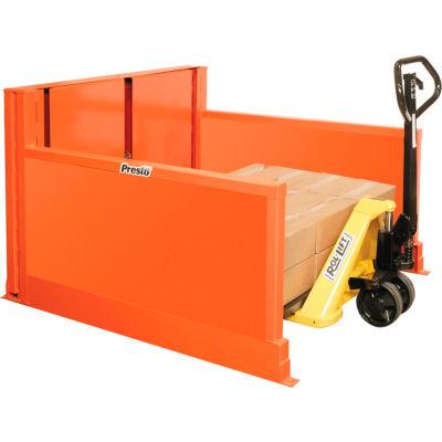 PrestoLifts™ Floor Level Pallet Loader P4-25-4448H 2500 Lb. Hand Control