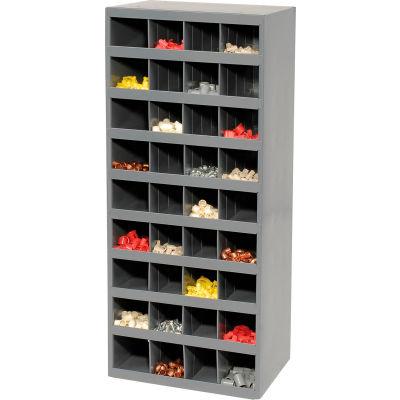 Durham Steel Storage Parts Bin Cabinet 358-95 Open Front - 36 Compartments