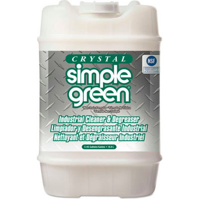 Crystal Simple Green® Industrial Cleaner and Degreaser, 5 Gallon Pail - 19005
