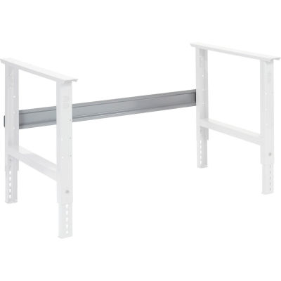 "Global Industrial™ Workbench Stringer 48""W x 6""H for C-Channel Open Leg - Gray"