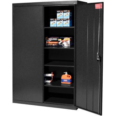Sandusky Elite Series Storage Cabinet EA4R462472 - 46x24x72, Black