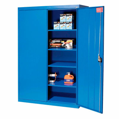 Sandusky Elite Series Storage Cabinet EA4R462472 - 46x24x72, Blue