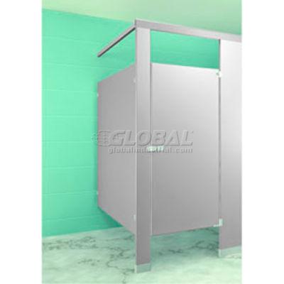 "Steel Complete In-Corner Compartment 36"" Wide - Gray"