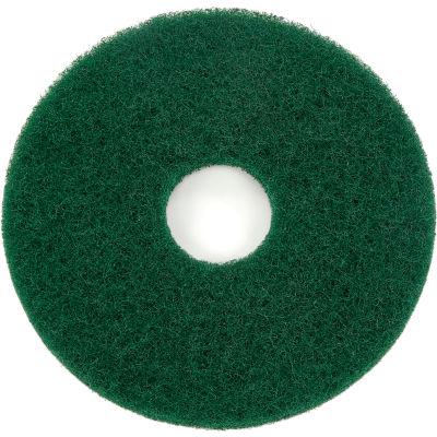 "Global Industrial™ 13"" Scrubbing Pad, Green, 5 Per Case"