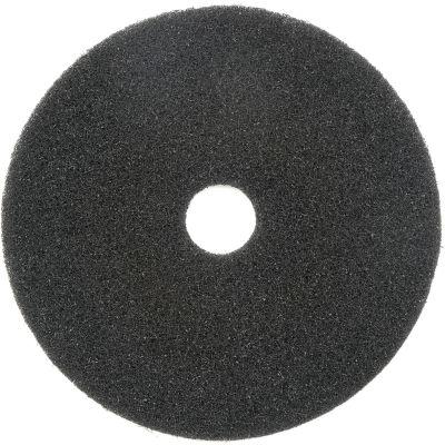 "Global Industrial™ 17"" Black Stripping Pad - 5 Per Case"