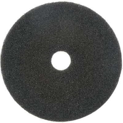 "Global Industrial™ 17"" Stripping Pad, Black, 5 Per Case"