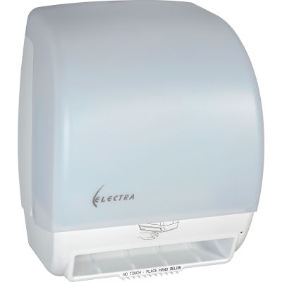 Adjustable Touchless Towel Dispenser - White - T245WH