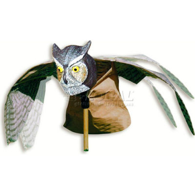Bird-X Prowler Owl® Visual Bird Chaser Decoy - OWL