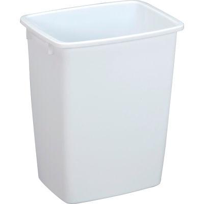 Rubbermaid® Wastebasket 36 Quart, White