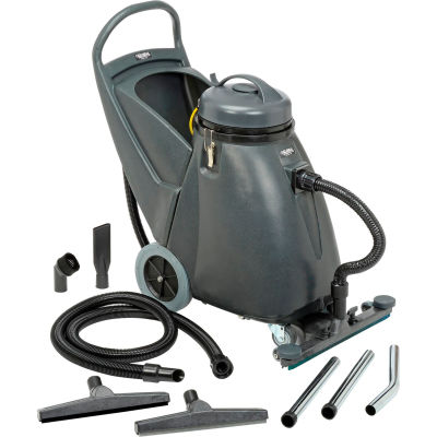 """Global Industrial™ Wet & Dry Vacuum 18 Gallon with 24"""" Squeegee"""