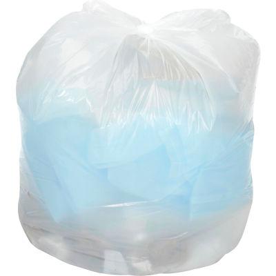 Global Industrial™ Medium Duty White Trash Bags - 55 to 60 Gal, 0.7 Mil, 100 Bags/Case