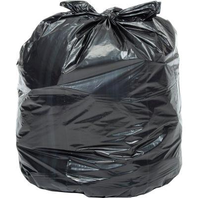 Global Industrial™ Contractor Black Trash Bags - 42 Gal, 3.0 Mil, 50 Bags/Case