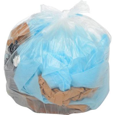 Global Industrial™ Light Duty Natural Trash Bags - 45-55 Gal, 0.47 Mil, 200 Bags/Case