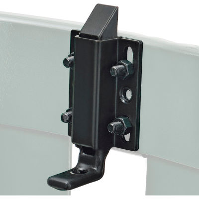 Global Industrial™ Replacement Latch Kit w/Hardware For Slatted Receptacle With Access Door