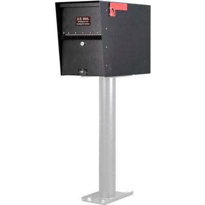 Jayco Standard Heavy Duty Letter Locker Mailbox Black