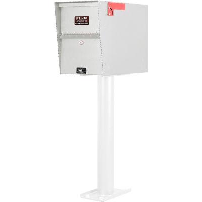 Jayco Standard Aluminum Letter Locker Mailbox White