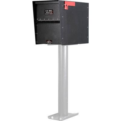 Jayco Standard Rear Access Aluminum Letter Locker Mailbox Black