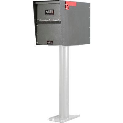 Jayco Standard Rear Access Aluminum Letter Locker Mailbox Gray