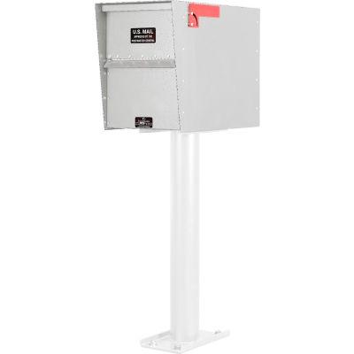 Jayco Standard Rear Access Aluminum Letter Locker Mailbox White