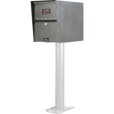 Jayco Standard Light Duty Letter Locker Mailbox Gray