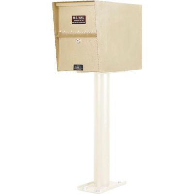 Jayco Standard Light Duty Letter Locker Mailbox Tan