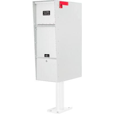Jayco Supreme Heavy Duty Letter Locker Mailbox White
