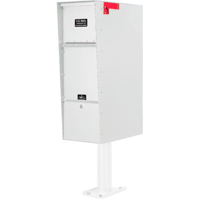 Jayco Supreme Letter Locker Mailbox White