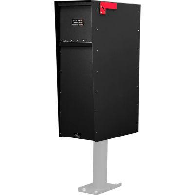Jayco Supreme Rear Access Heavy Duty Letter Locker Mailbox Black