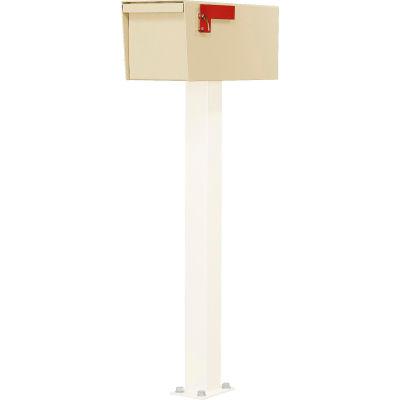 Jayco Residential Non-Locking Letter Locker Mailbox Tan